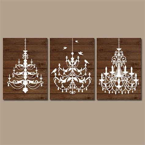 Chandelier Wall Art Canvas Or Prints Wood Effect Wall Art Chandelier Wall Decor