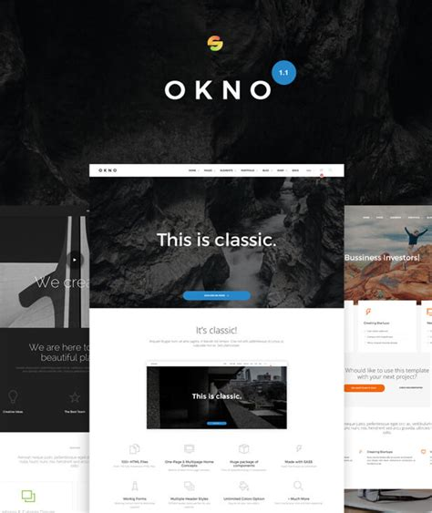 themeforest drupal 8 okno ultimate multipurpose drupal 8 theme by drupalet
