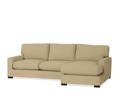 orion fabric chaise sectional with ottoman turner square arm upholstered sofa with chaise sectional