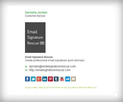 div templates exle div email signature template with 100x150