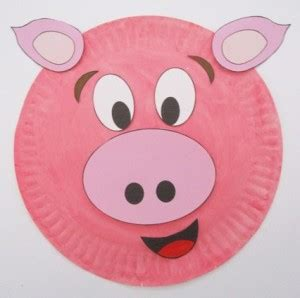 How To Make A Paper Pig - pig paper plate craft