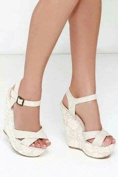 Beige Wedges For Wedding by Cheap 2015 New White Wedges Wedding Dress Shoes Fashion
