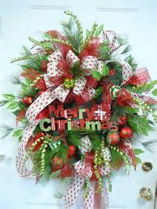 xl gorgeous merry christmas door wreath outdoor by