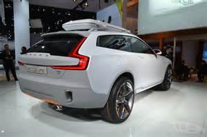 Volvo Concept Suv Volvo Concept Xc Coupe Shown In Detroit