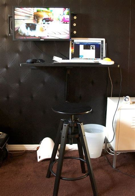 10 Ikea Standing Desk Hacks With Ergonomic Appeal Diy Ikea Standing Desk