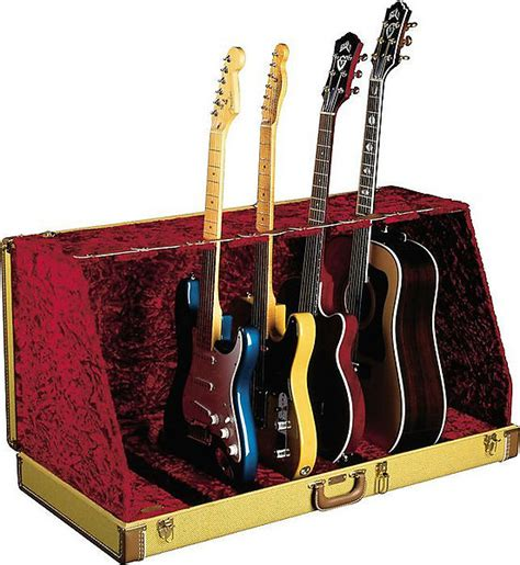 stand gitar by prezto fender seven guitar stand tweed reverb