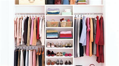 maximize  closet space real simple