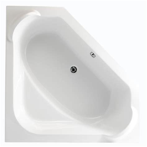 baignoire en acrylique baignoire d angle concerto 140x140cm blanc acrylique