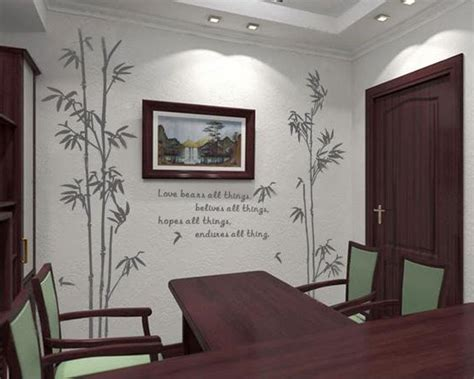 large wall stickers for living room large bamboo wall sticker quotes love decals plants wall