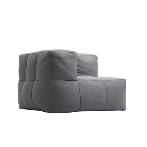 outdoor corner sofa cover kalahari outdoor corner piece beanbag sofa cover only