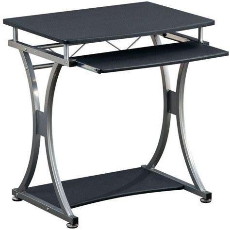 scrivania per computer compact scrivania per pc compatta nero porta pc moderno
