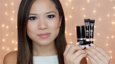 Bedak Hd Makeup Forever new makeup forever hd invisible cover stick foundation concealers demo review