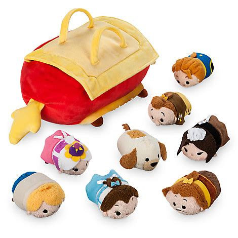 and the beast set and the beast tsum tsum plush set small tote