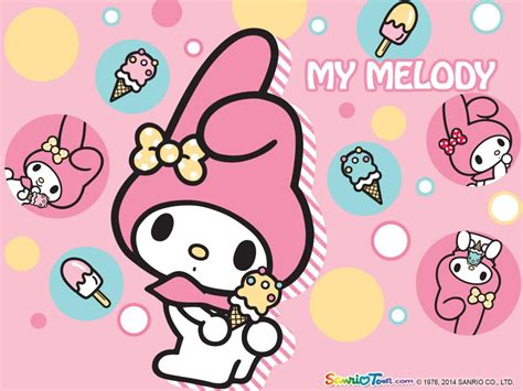Seven Melody 7 Melody my melody official wallpaper 7