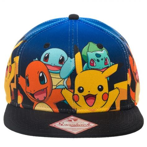 Figure Charmander Squirtle Bulbasaur Warna Figure Transformers 1 cap original starter gradient snapback archonia us