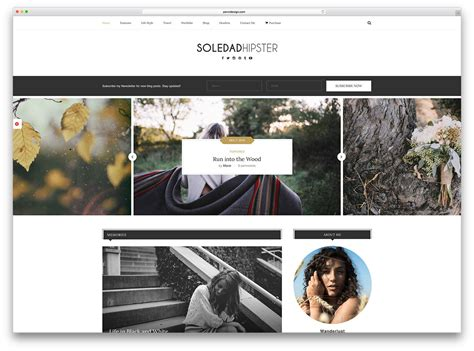 lifestyle blog design the most popular premium wordpress themes of 2017 colorlib