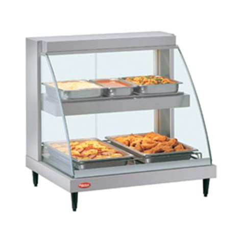 hatco grcd 2pd heated display cabinet two pan