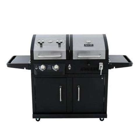 backyard grill gas charcoal combination grill gas charcoal combo grills gas grills the home depot