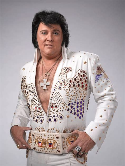 elvis presley impersonators pay homage to the king at