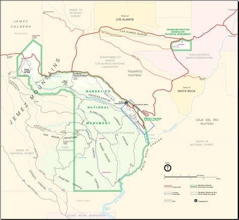 national monuments map map of bandelier national monument worldofmaps net