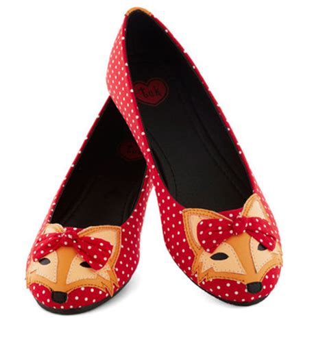 Flat Fox what does the fox say fox flats shoeaholics anonymous