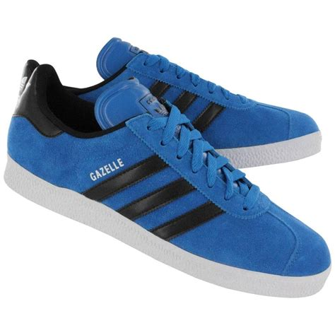 adidas gazelle 2 g56657 crayon blue black run white suede casual athletic shoe ebay