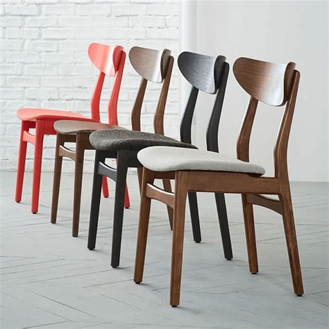 Cafe Dining Chairs Classic Caf 233 Dining Chair Walnut West Elm