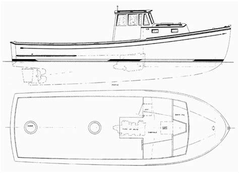 lobster boat designs plans glued lapstrake plywood boat plans must see kyk