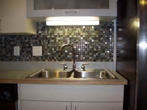 kitchen backsplash ideas glass tile design non
