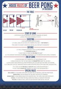 the rules of beer pong visual ly