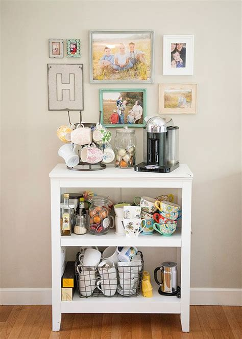 Wall Hanging Charging Station by 24 Home Coffee And Tea Station D 233 Cor Ideas To Try