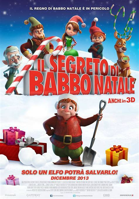 film natale il segreto di babbo natale film 2013