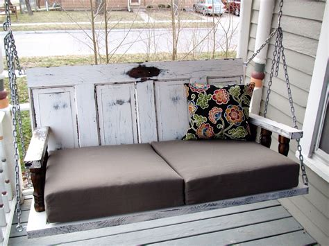 ready  summer enliven  porch  comfy swings