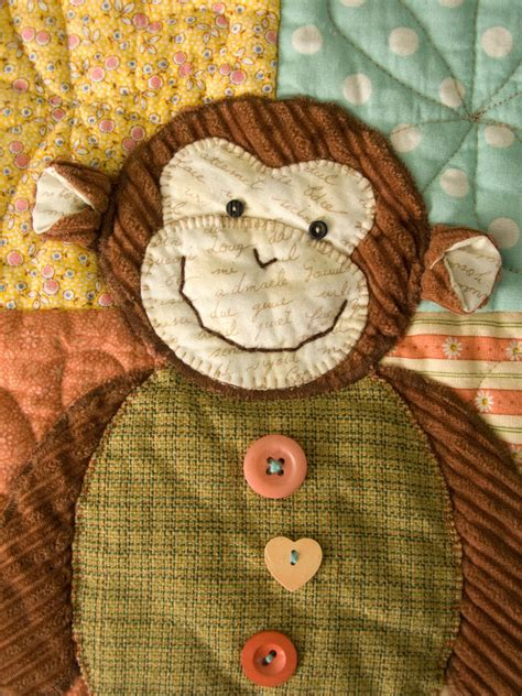 quilt pattern monkey patchworkpottery one little monkey