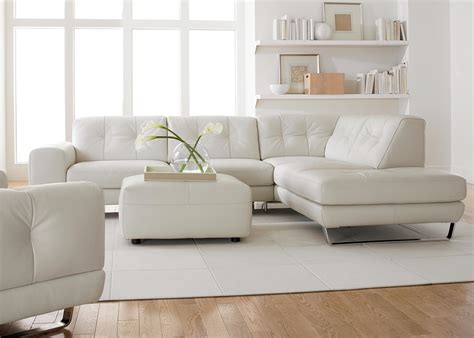sleeper sofa with ottoman modern sofa white leather amazing house design modern