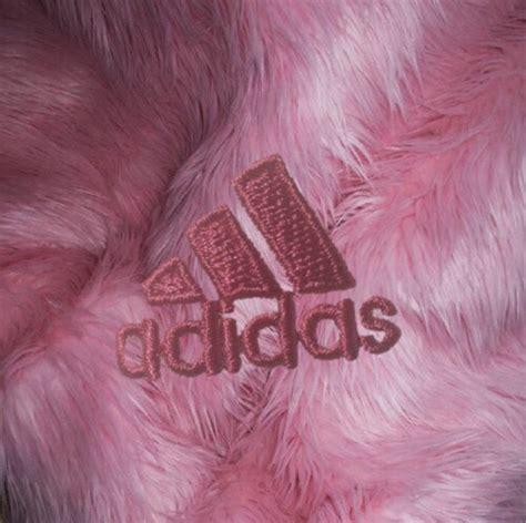 tumblr themes hot pink adidas aesthetic babygirl fur mine pale pastel pink