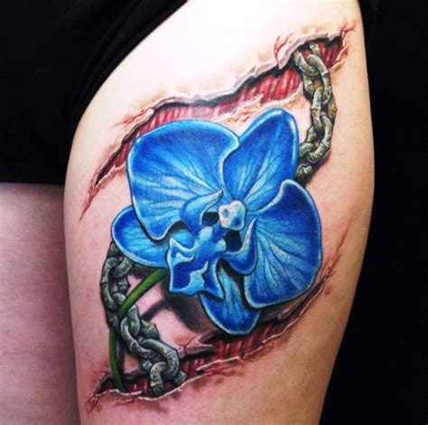 orchid sleeve tattoo designs orchid tattoos tattoofanblog