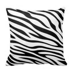 Black And White Sofa Pillows Zebbra Stripes Black And White Throw Pillow Zazzle