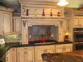 Brick Backsplash Kitchen by Elegant Brick Backsplash In The Kitchen Presented With