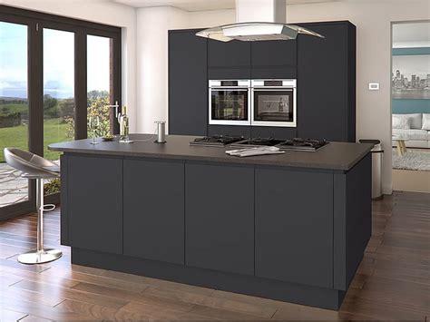 buy modern kitchen cabinets luca graphite kitchens buy luca graphite kitchen units