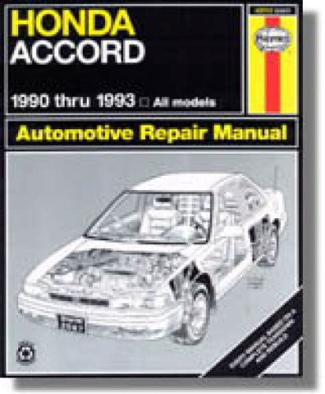 auto repair manual online 1983 honda accord user handbook 1990 honda accord lx owners manual