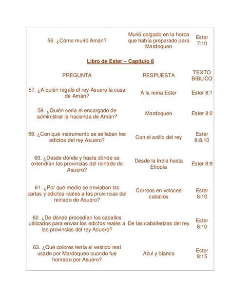 preguntas biblicas pdf cuestionario de los capitulos del libro de ester