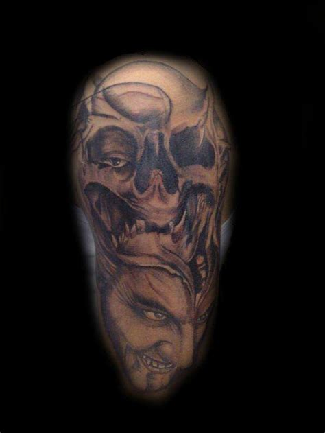 tattoo joker skull joker skull tattoo