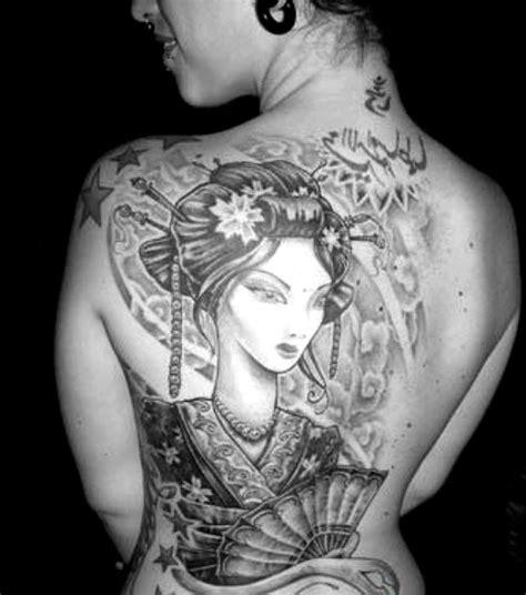tattoo de geisha en espalda tatuajes de geisha 187 tatuajes tattoos