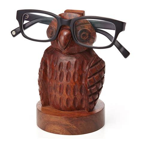 owl eyeglass holder the green