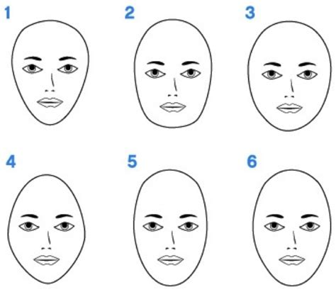 hairstyles for egg shaped faces what is your face shape round square long heart or