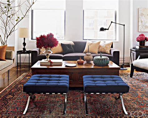 Living Room Stools | start with a persian rug mcgrath ii blog