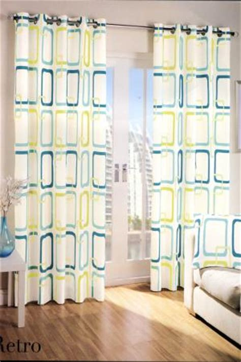 retro curtains ready made retro teal eyelet curtains harry corry limited