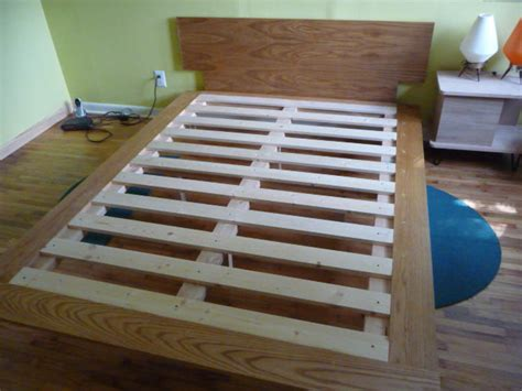 how to make a platform bed diy how to build a queen size platform bed plans free