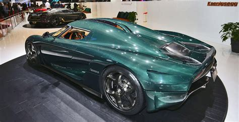koenigsegg green hypergallery 2017 koenigsegg regera in 33 new photos